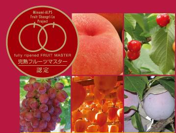 完熟フルーツマスターのこだわりフルーツ